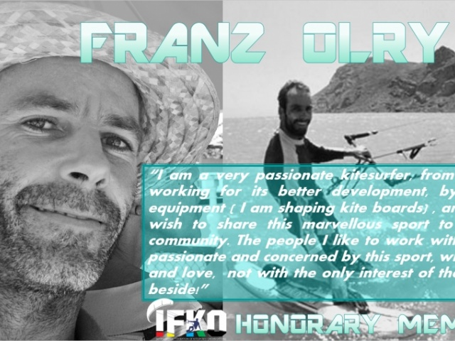 Mr Franz Olry Honorary Member