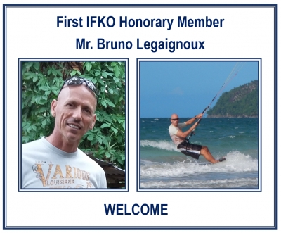 FIRST IFKO HONORARY MEMBER  - MR. BRUNO LEGAIGNOUX